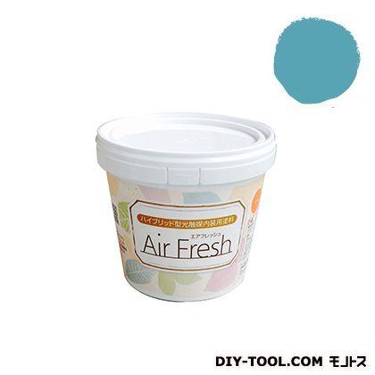 イサム塗料 エアフレッシュ ハイブリット型光触媒内装用塗料 ピーコックブルー 1kg
