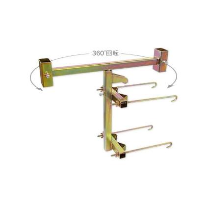サインホルダーガードケーブル支柱用   SBH-C 1 台