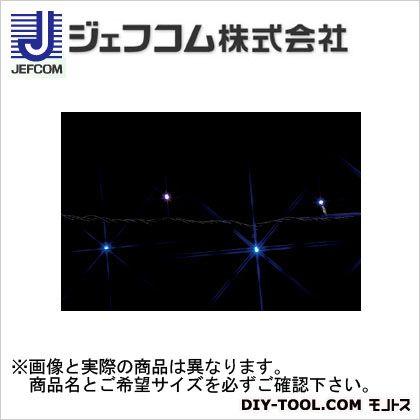 デンサン LEDストリングライト 白/青 10m SJ-E05-10WB