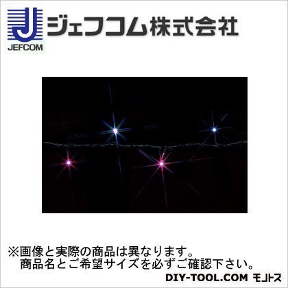 デンサン LEDストリングライト 白/ピンク 10m SJ-E05-10WP