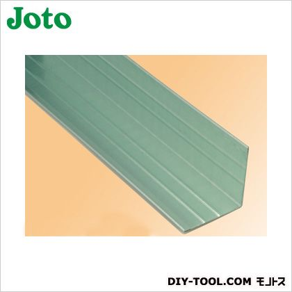 PE鋼板製捨て入隅 グリーン (MJF-L40)