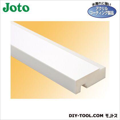 樹脂製開口枠 ホワイト 横枠:有効幅48mm長さ1,800mm SP-48M24W-L18-WT