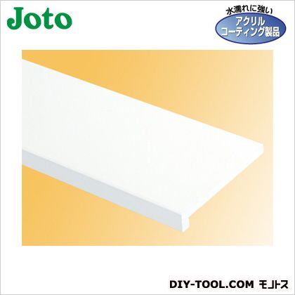 樹脂製開口枠 ホワイト 126×24×2,200mm SP-1224H-L22-WT 2 枚