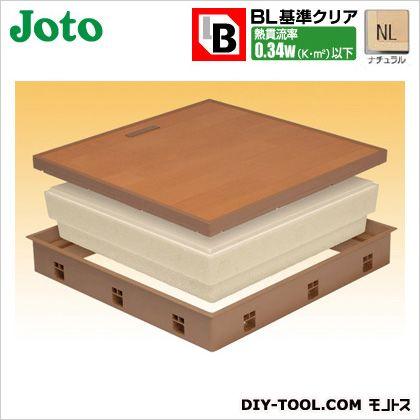 高気密床下点検口 ナチュラル 600×600×77.5mm SPF-R60C-BL2-NL