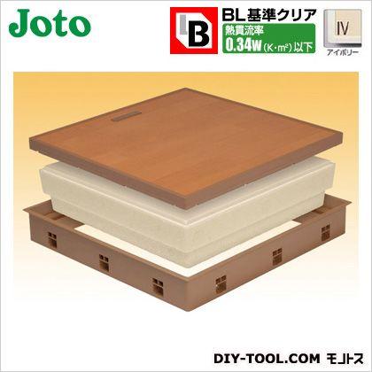 高気密床下点検口 アイボリー 600×600×77.5mm (SPF-R60F15-BL3-IV)