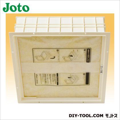 高気密型天井口 枠:アイボリー 断熱材:淡黄色  SPC-4545B-H1