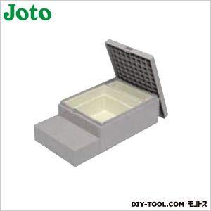 ハウスステップ収納庫付 ライトグレー 600×1,100×350(175)mm CUB-8060S