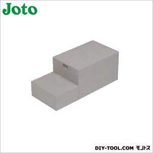 ハウスステップ収納庫無し ライトグレー 400×900×350(175)mm CUB-6040