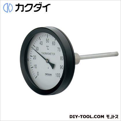 カクダイ バイメタル製温度計(アングル型)   649-909-100A