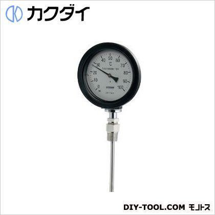 バイメタル製温度計(防水・ストレート型)   649-912-100B
