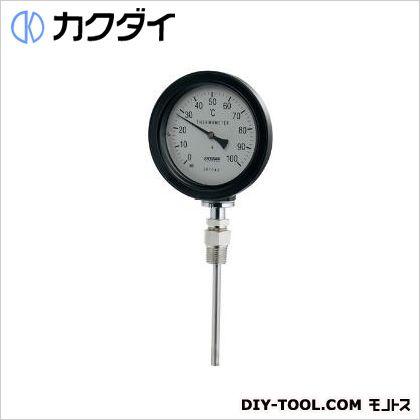 バイメタル製温度計(防水・ストレート型)   649-913-100B