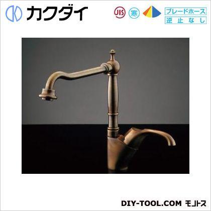 シングルレバー混合栓(オールドブラス)   117-123K