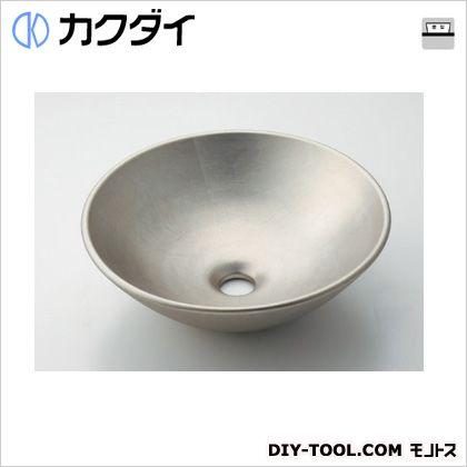 丸型手洗器 白銀  493-095-T