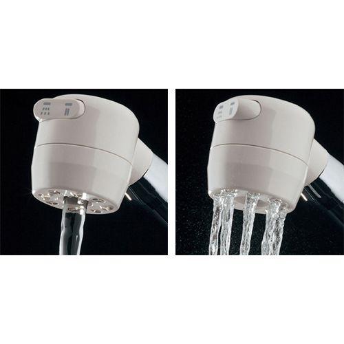 シングルレバー混合栓 メタル・白(ホワイト)  117-124 1