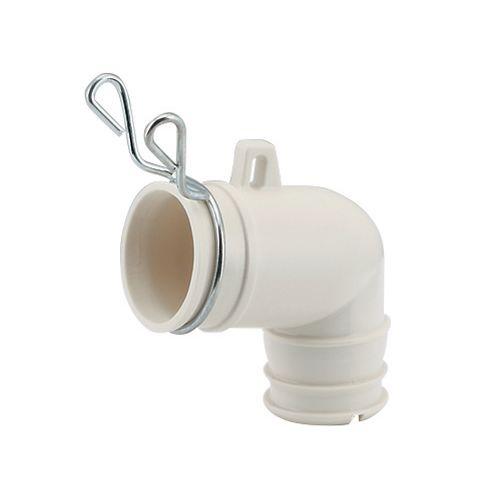 洗濯機排水トラップ用エルボ   437-203 1