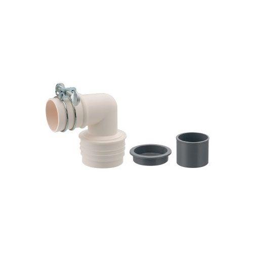 洗濯機排水トラップ用エルボ(VU)   437-221 1