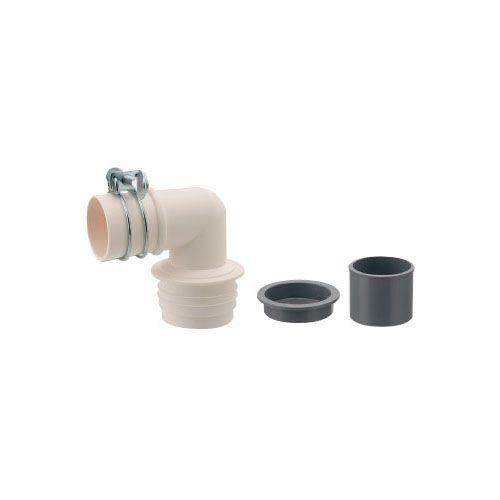洗濯機排水トラップ用エルボ(VP)   437-222 1