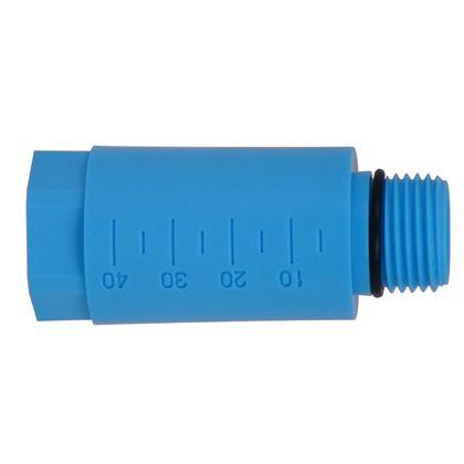 テストプラグ(管端防食継手対応) 青(ブルー) (613-135-13)