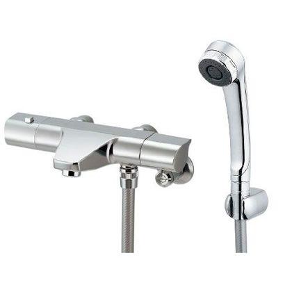 サーモスタットシャワー混合栓 クローム(メタル) (173-076)