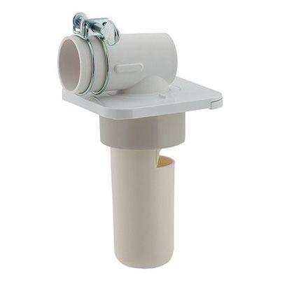角型洗濯機用排水トラップ 白(ホワイト)  426-025-50