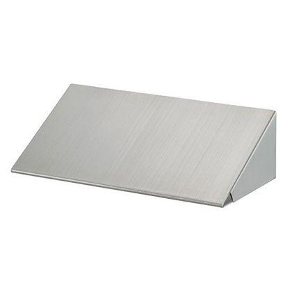 カクダイ 散水栓ボックス露出型用安全屋根 クローム(メタル)  626-800