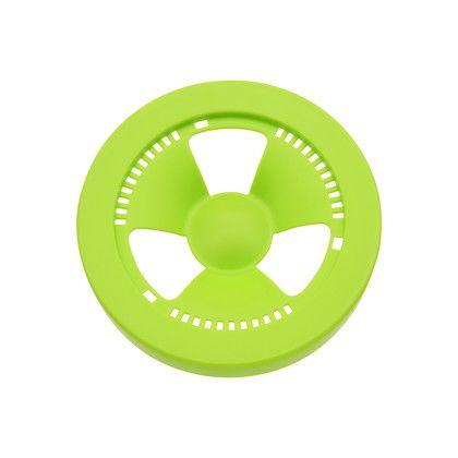 GAONA 赤札見つけ シンク用 排水口のフタ プラスチック製 グリーン  GA-PB030