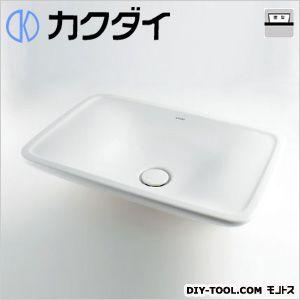 カクダイ 角型洗面器 11L (#DU-0369700000) 洗面器 洗面