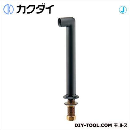 カラー水栓取付脚 マットブラック (104-113)