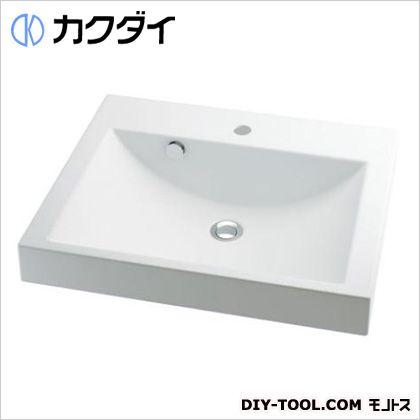 カクダイ 角型洗面器 10L (493-072) 洗面器 洗面