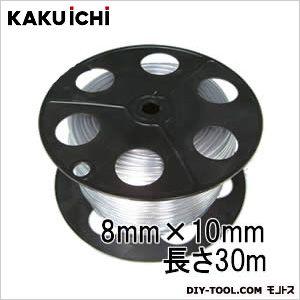 PB巻 透明ホース チューブ 工業用 8mm×10mm 30m