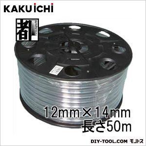 PB巻 透明ホース チューブ 工業用 12mm×14mm 50m