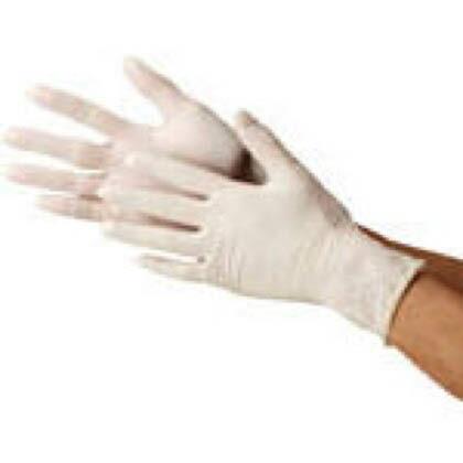 天然ゴム使いきり手袋 粉なし  M 2032M 1 箱
