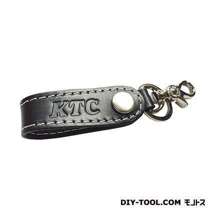 KTC レザーキーホルダー (ブラック)  YG-43BK
