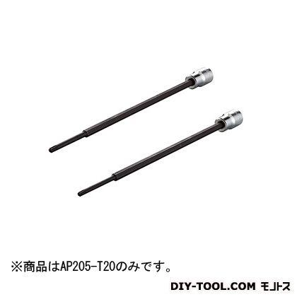 KTC 9.5SQ アウターハンドル用トルクスビットソケット  T20 AP205-T20