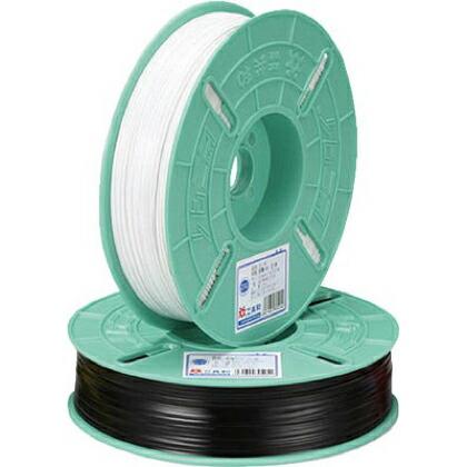 ビニタイ PVCリール巻 黒 4mm×600M (QC-600-7A)