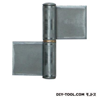 鉄 旗丁番 生地 4.5×127mm (K-30-127 R) 2枚