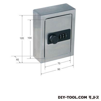 AQH-1A 鍵の保管箱 ダイヤル錠 HL 120×90×40 (AQH-1A)