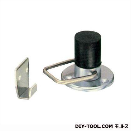 棒型戸当 フック付 サチライトクローム (D-600S-W)