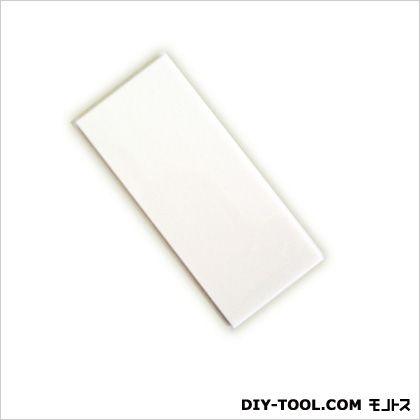 アクリル白無地板テープ付き ホワイト 0.2×3.5×8cm 6T