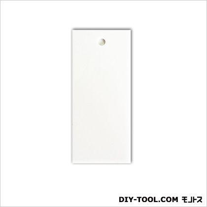 アクリル白無地板穴あき ホワイト 0.2×3.5×8cm 6NS