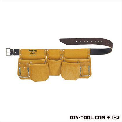革製腰袋ダブルバッグ 腰袋」両側ベルト(ベルト付き)   AP-630