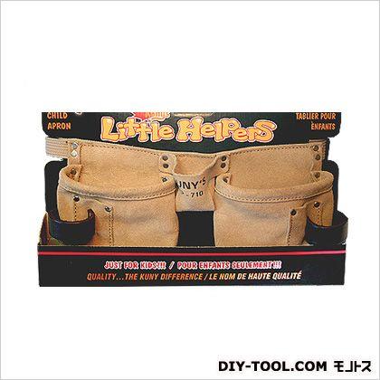 子供用ベルト付き革製腰袋 腰袋両側ベルト 子供用(ウエストポーチ) (AP-710)