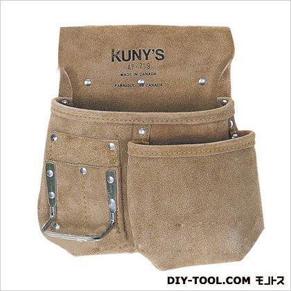 革製シングルバッグ 腰袋片側(ベルト無し) (AP-719)