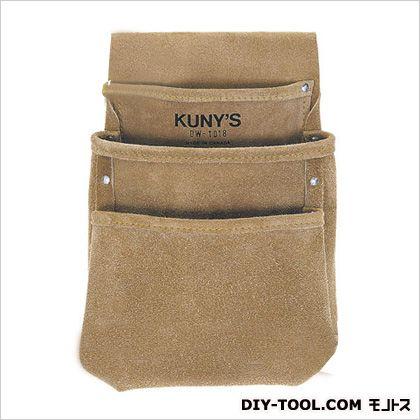 革製シングルバッグ 腰袋片側(ベルト無し) (DW-1018)