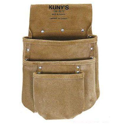 革製シングルバッグ 腰袋片側(ベルト無し) (DW-1019)
