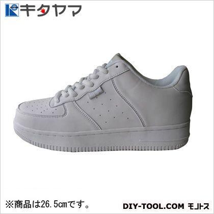 安全靴 マンティス 紐タイプ 3E ホワイト 26.5cm (M-19)