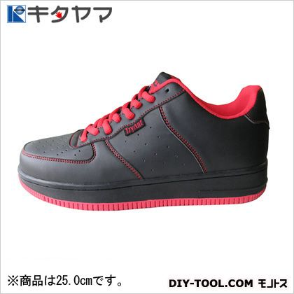 安全靴 マンティス 紐タイプ 3E ブラック 25.0cm (M-19)