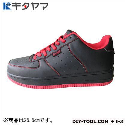 安全靴 マンティス 紐タイプ 3E ブラック 25.5cm M-19
