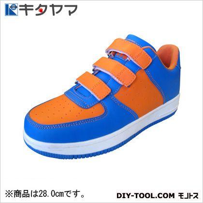安全靴マンティスマジックタイプ3E オレンジ/ブルー 28.0cm M-20