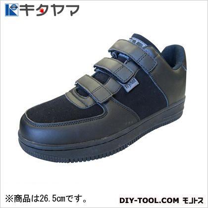 安全靴マンティスマジックタイプ3E ブラック/ブラック 26.5cm M-20